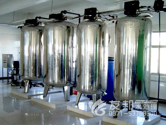 食品饮料行业软化水